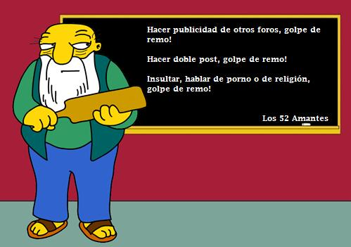 Los Simpson avisan: Respeten las Normas Golper10