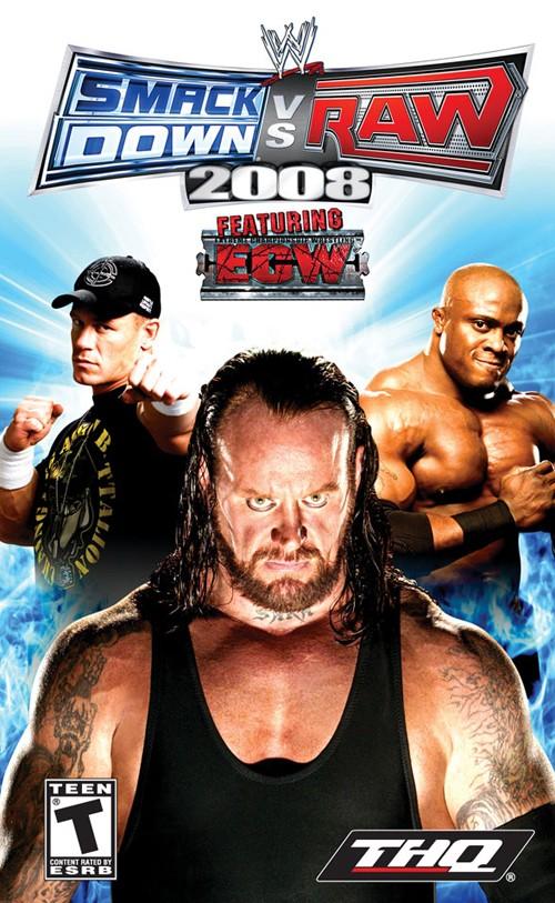 حصريا لعبة المصارعة WWE Raw Total Edition 2008 بحجم 415 ميجا 213k5k10