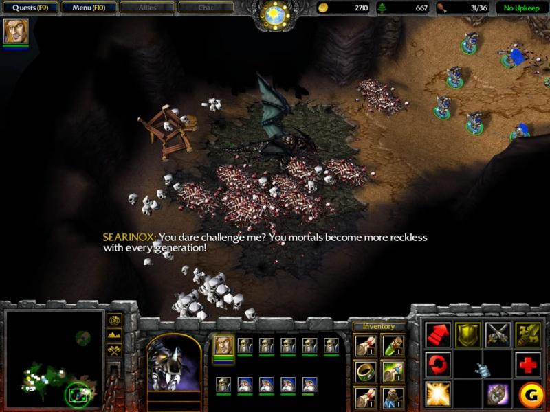 لعبة Warcraft 3 كاملة تحميل مباشر Warcra10