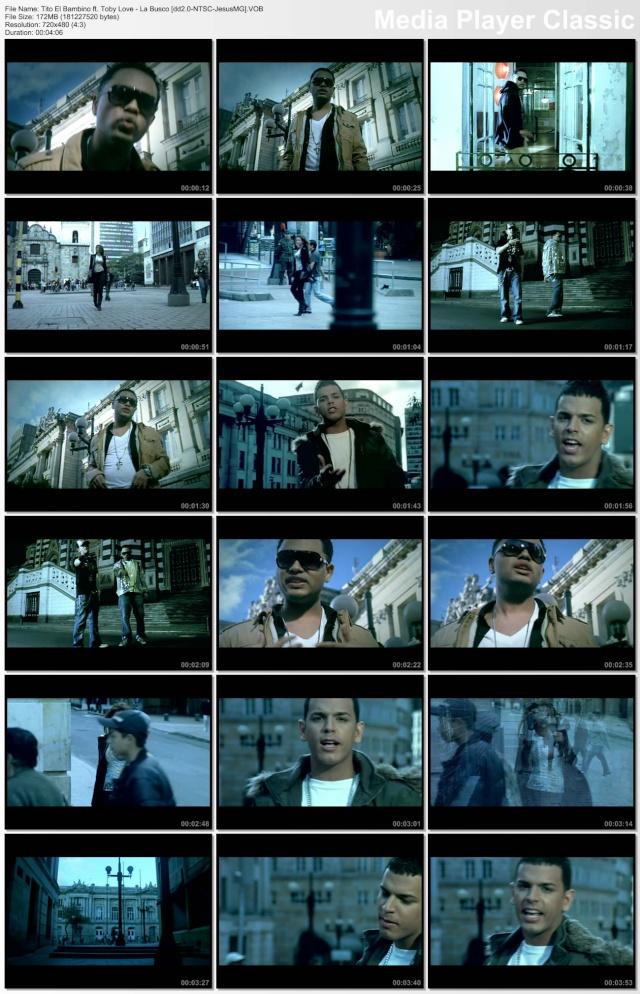 """Tito """"El Bambino"""" ft. Toby Love - La Busco (VOB) Jesuar10"""