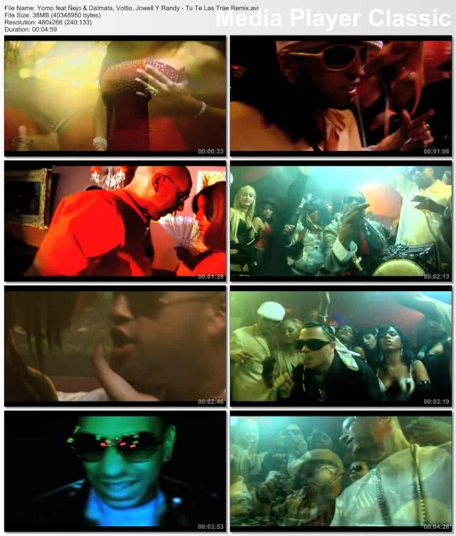 Yomo feat Ñejo Y Dalmata,Voltio Y Jowell y Randy - Tu Te La Traes (Remix) Thumbs12