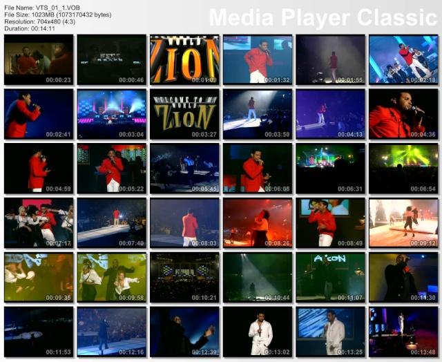 DVD: Zion - Welcome To My World (AVI) Zioniw10