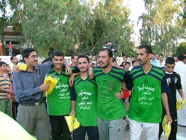 فوز فريق القدس على فريق الأمل في المباراه النهائية اضغط هنا لتشاهد الفيدو والصور