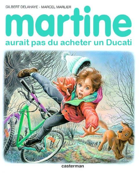 Martine en délire D2656310