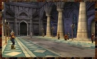 Le grand hall d'accueil