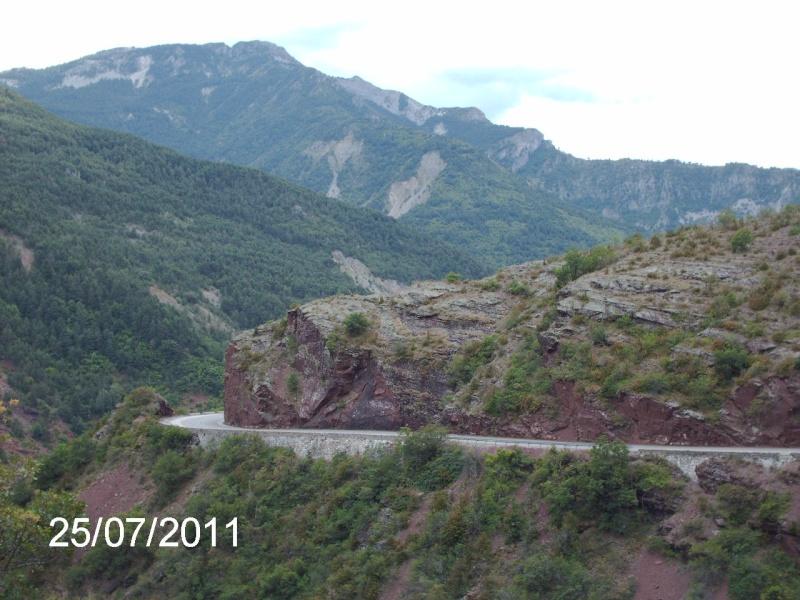 ballade dans le Verdon, les Alpes, le Mercantour . Ballad27