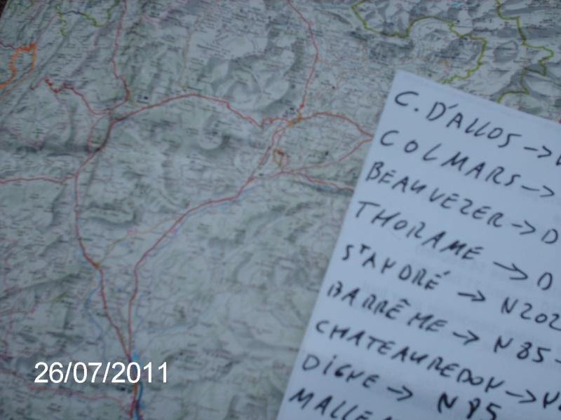 ballade dans le Verdon, les Alpes, le Mercantour . Ballad66
