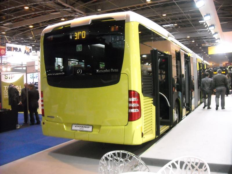 Salon des Transports Publics 2012 à Paris Citaro10