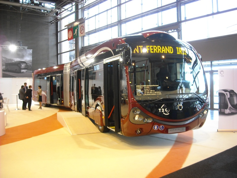 Salon des Transports Publics 2012 à Paris Creali10