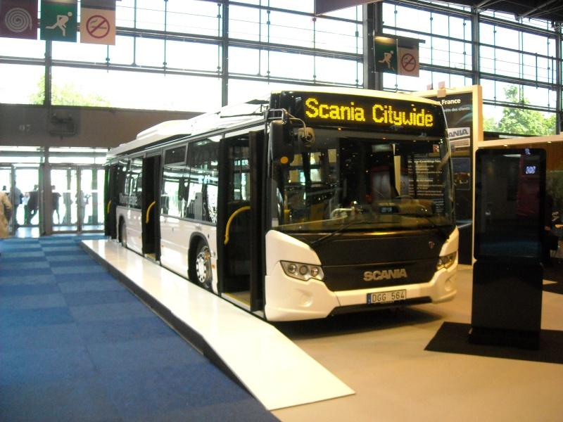 Salon des Transports Publics 2012 à Paris Scania10