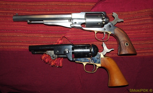 Remington  New Army 1858 / Colt 1851 NAVY Reming21