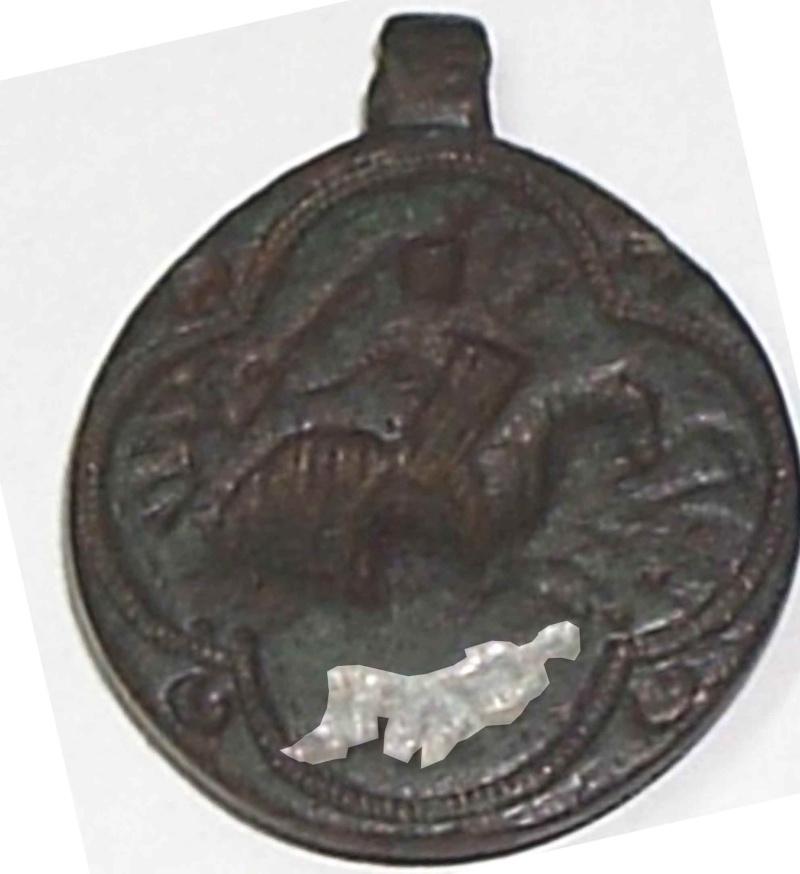 judio - Sigillun con caballero medieval ¿Judío? (s. XII -XIII) P2120010