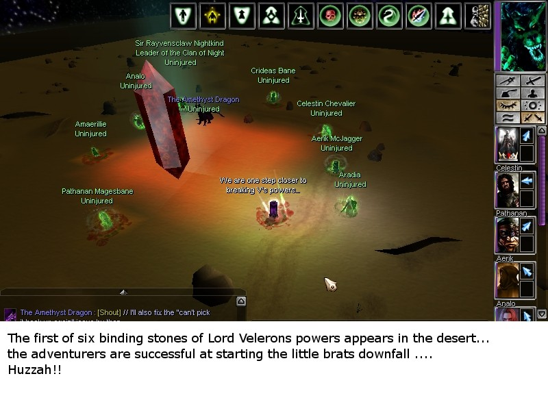 Trace of the Bloodline (DM Event, 27th June 2012) Ending10