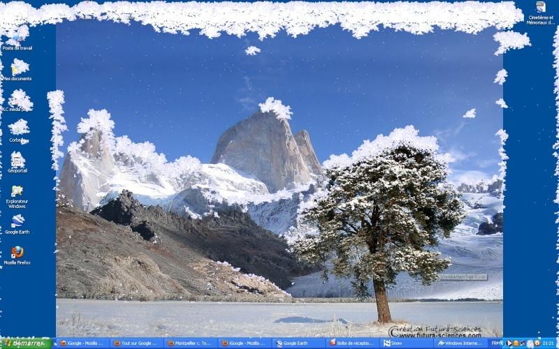 Il neige sur vos écrans (Le village de tsge) 2011-110