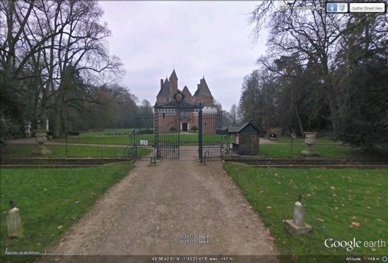 A la découverte de la Somme avec Google Earth Chatea11