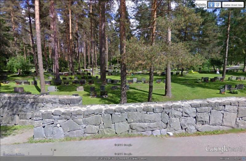 [Finlande] - STREET VIEW : les cartes postales - Page 3 Cimeti13