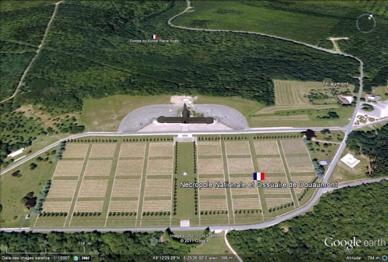 A la découverte des mémoriaux et cimetières militaires Douaum10