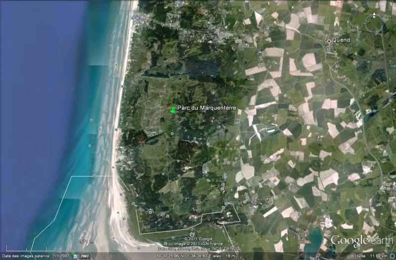 A la découverte de la Somme avec Google Earth Parc_d13