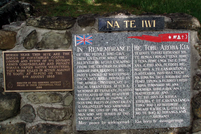 [Nouvelle-Zélande] - Ruakituri N.Z wars Mémorial Ruakit12