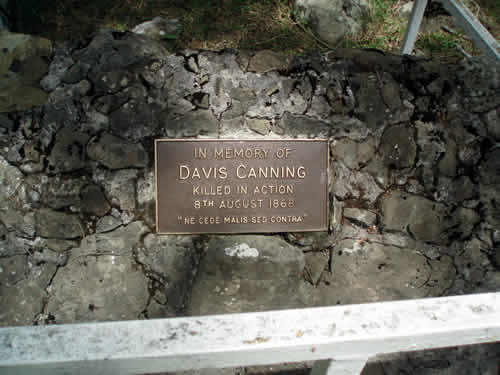 [Nouvelle-Zélande] - Ruakituri N.Z wars Mémorial Ruakit15