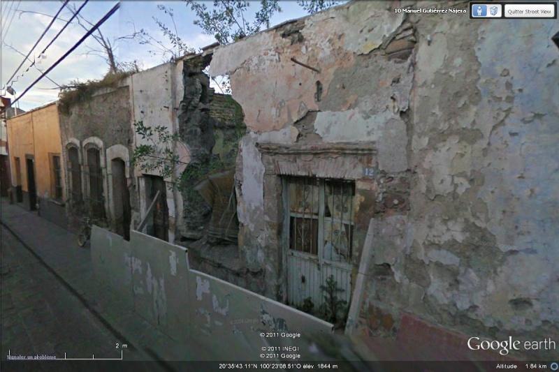 [Mexique] - Les vues STREET VIEW - Page 3 Ruine10