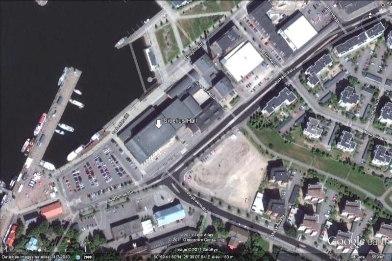 "[Finlande] - Salle de concert ""Sibelius Hall"" à Lahti Sibeli10"