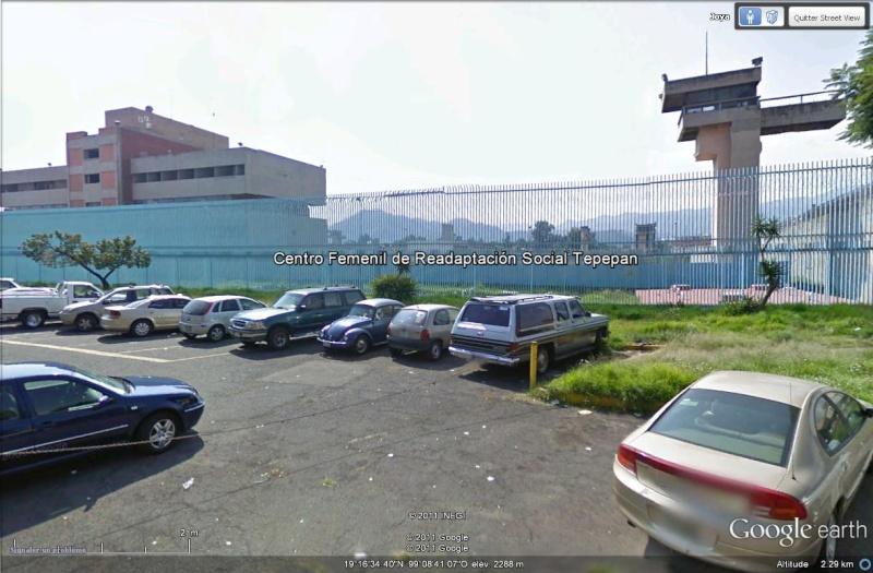 [Mexique] - Prison de Florence Cassez, Tepepan Street37
