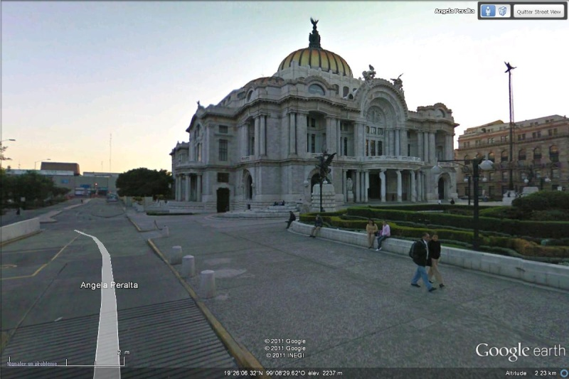 [Mexique] - Palacio de Bellas Artes Street56