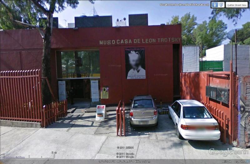 [Mexique] - Musée Léon Trotski, Mexico Street57