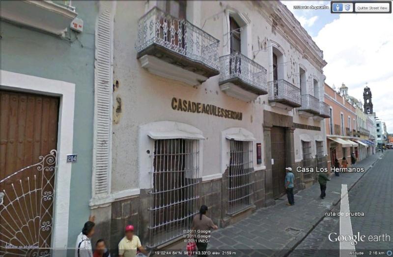 [Mexique] - La Casa Los Hermanos Serdan, témoin de la révolution Street60