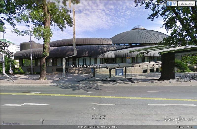 Les musées de FINLANDE Street71