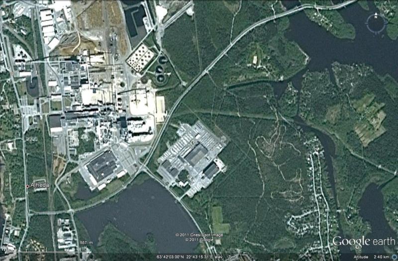 [Finlande] - UPM Pietarsaari, usine de pâte à papier Usine_10