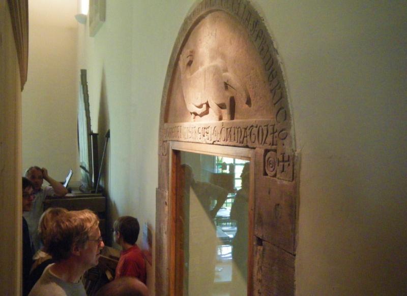 Visite accompagnée du village tous les mercredis soirs des mois de juillet et août 2011 avec le Cercle d'Histoire(s) de Wangen Dscf6531