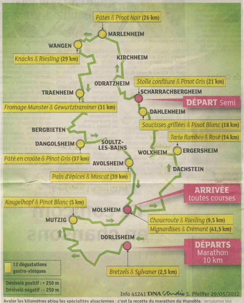 2 et 3 juin 2012 ,8ème édition du Marathon du Vignoble d'Alsace Image120