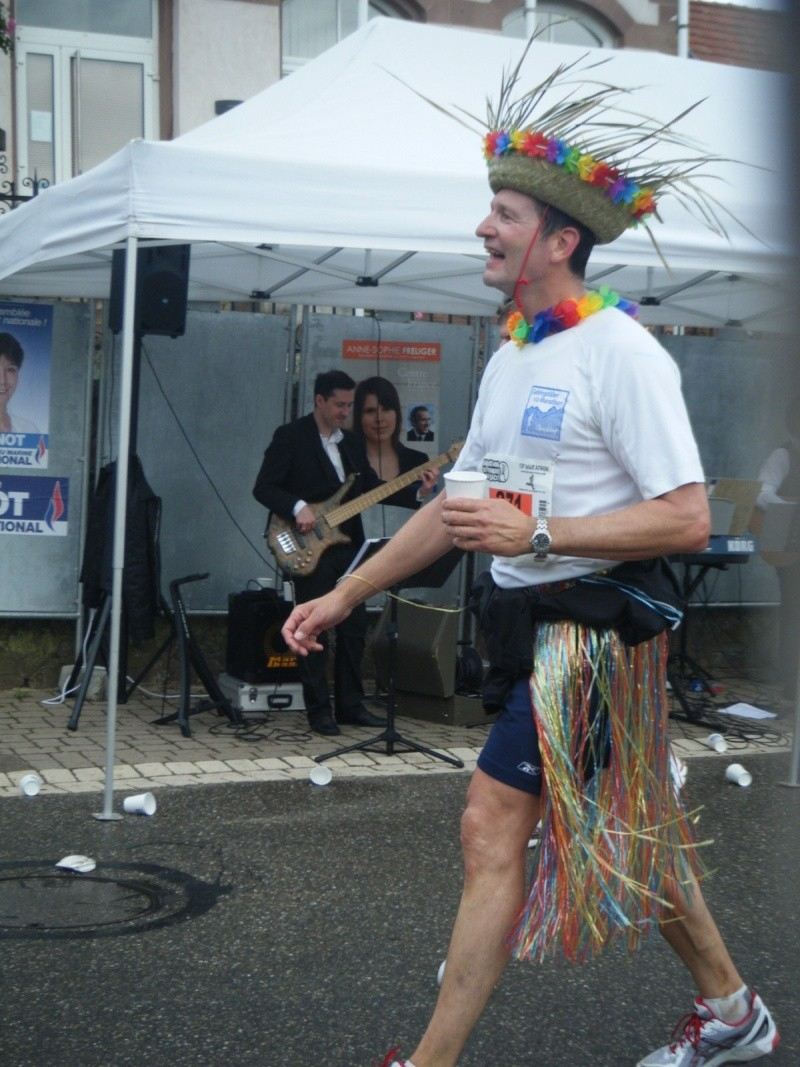 2 et 3 juin 2012 ,8ème édition du Marathon du Vignoble d'Alsace Marath26