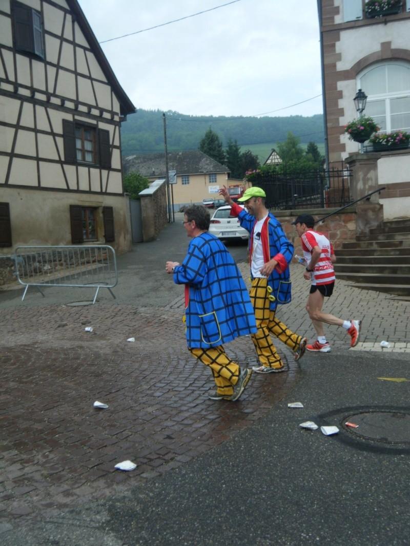 2 et 3 juin 2012 ,8ème édition du Marathon du Vignoble d'Alsace Marath30