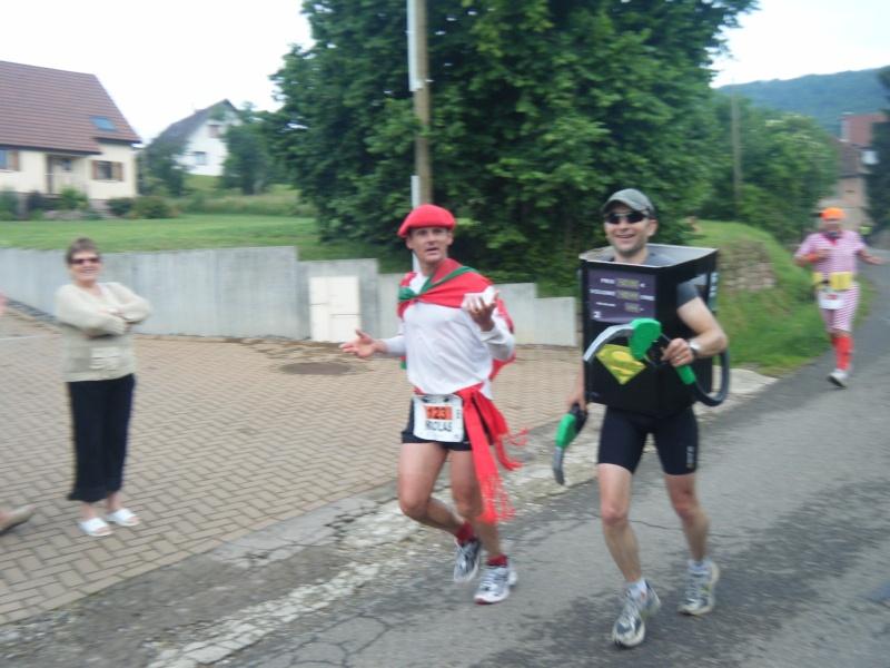 2 et 3 juin 2012 ,8ème édition du Marathon du Vignoble d'Alsace Marath34