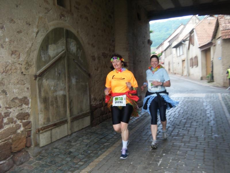 2 et 3 juin 2012 ,8ème édition du Marathon du Vignoble d'Alsace Marath35