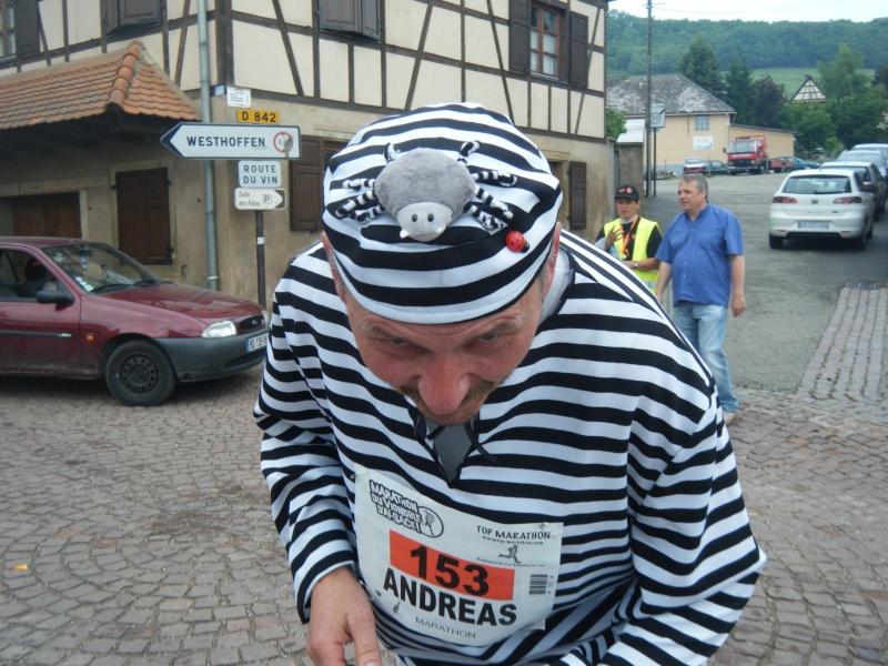 2 et 3 juin 2012 ,8ème édition du Marathon du Vignoble d'Alsace Marath44
