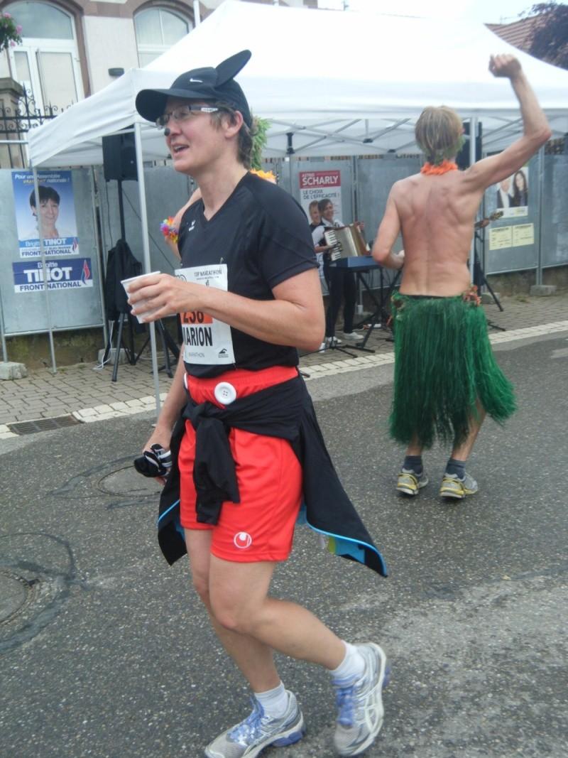 2 et 3 juin 2012 ,8ème édition du Marathon du Vignoble d'Alsace Marath53
