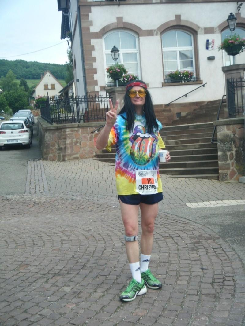 2 et 3 juin 2012 ,8ème édition du Marathon du Vignoble d'Alsace Marath57