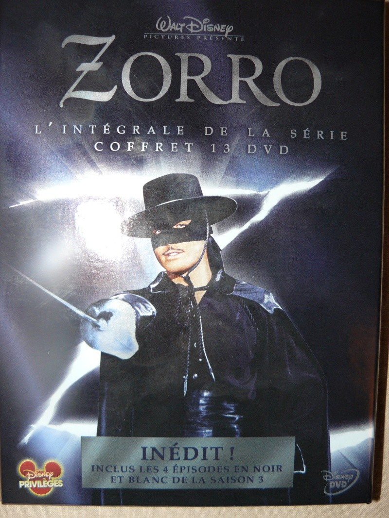 [DVD] Zorro : l'intégrale (9 Novembre 2011) [TOPIC UNIQUE ZORRO] P1070616