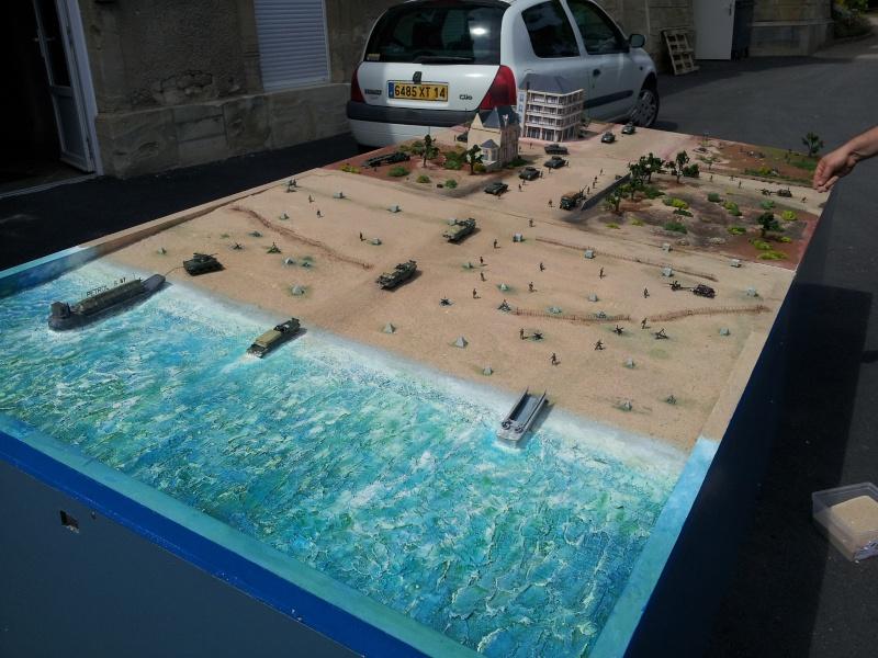 diorama de le brèche d' HERMANVILLE / MER (14) 20120610
