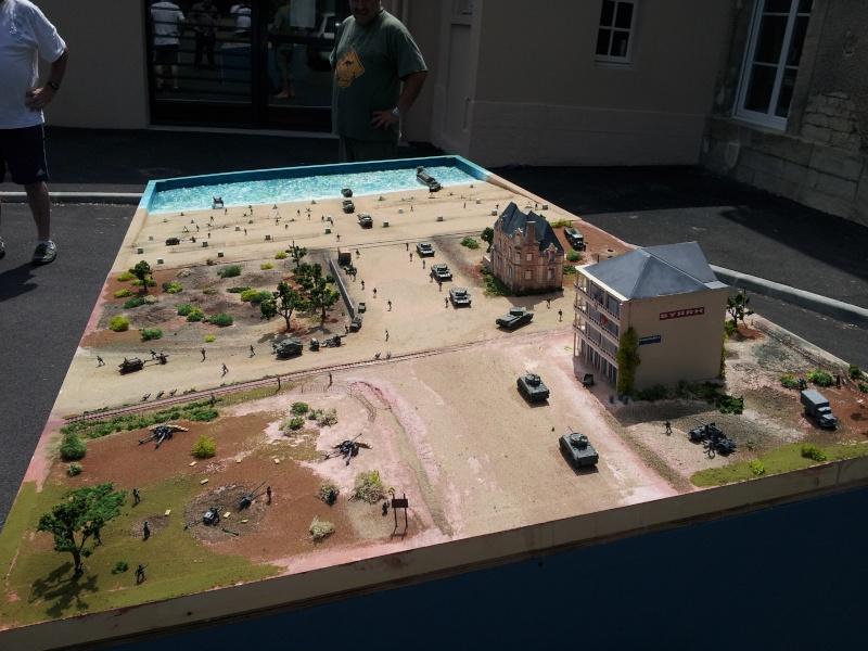 diorama de le brèche d' HERMANVILLE / MER (14) 20120611