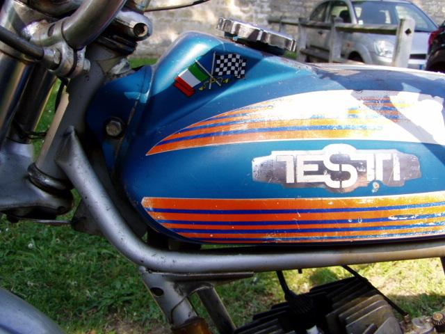 Et hop, une Testi Italienne 1975 frein à disque. P1010235