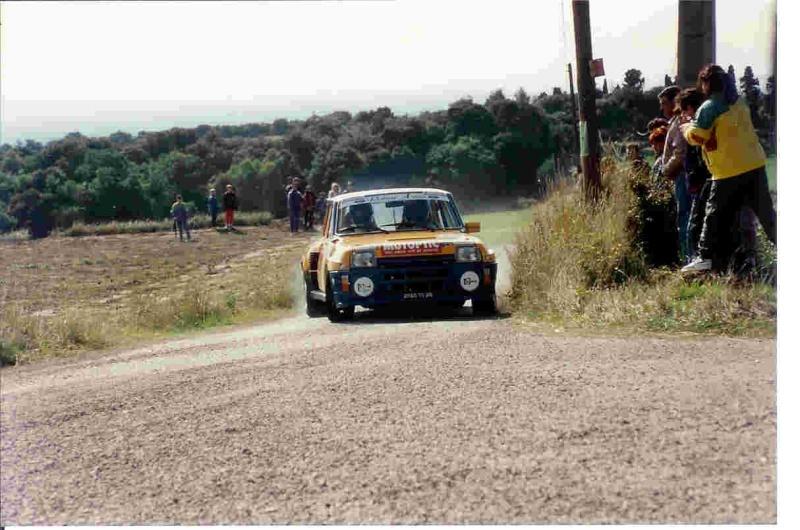 Stéphane Poudrel et Bernard Froment au Rallye de Pierrelatte Stepan10