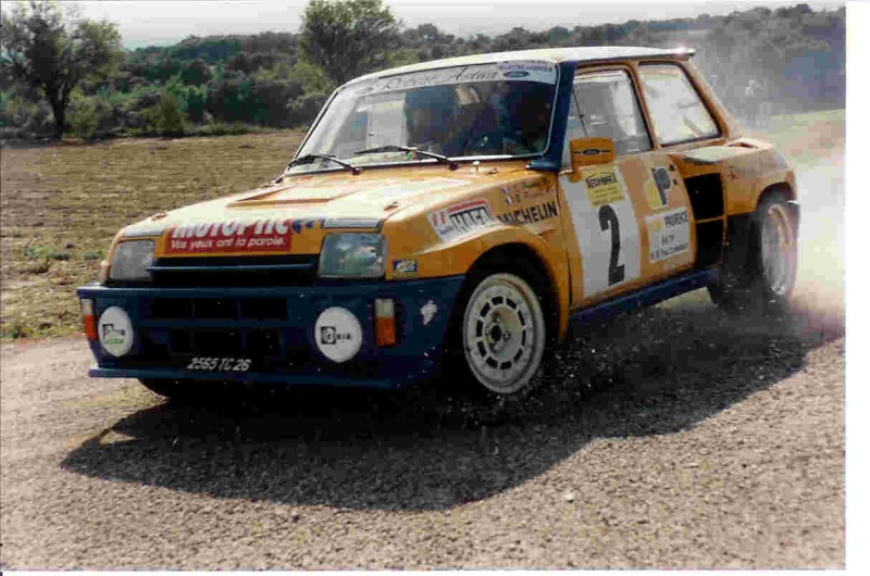 Stéphane Poudrel et Bernard Froment au Rallye de Pierrelatte Stepan12