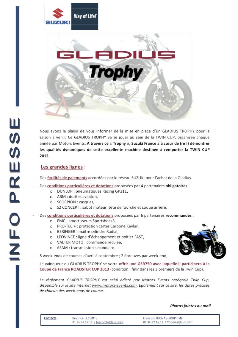 Suzuki Gladius Trophy  Gladiu10