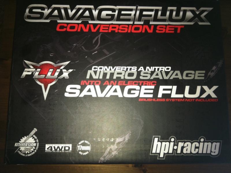 """Mon Savage """"Flux""""monté pièce par piece! Convfl10"""