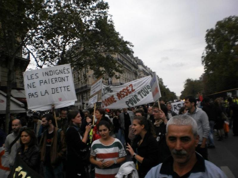 La marche des indignés arrive à Paris ce WE 29452410